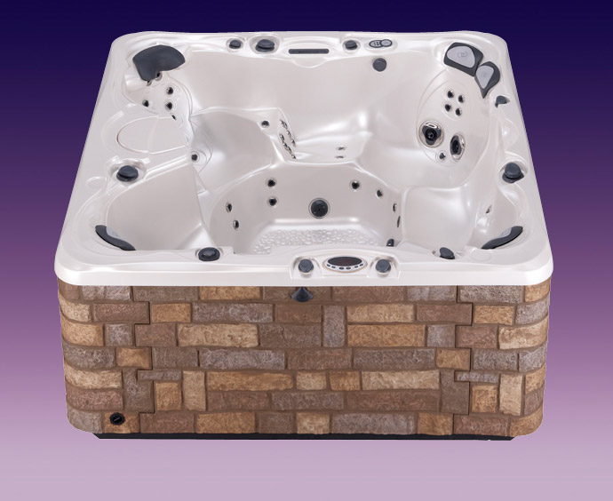 7 person hot tub niagara spa caldera spas. Black Bedroom Furniture Sets. Home Design Ideas